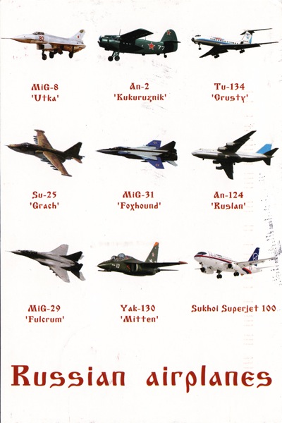 Russia airplanes