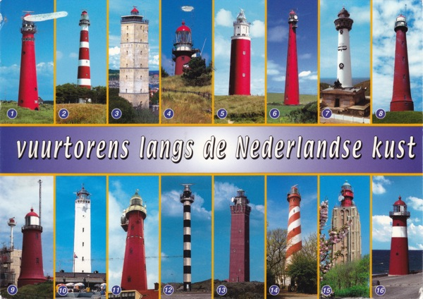 Netherlands ligthhouses