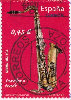 SPAIN saxophone